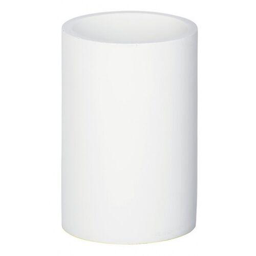 Wenko badkamerbeker Ida 7 x 10,5 cm polyresin wit - Wit
