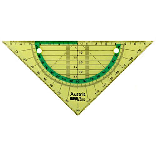 Aristo geodriehoek Geo Flex flexibel 16 cm groen