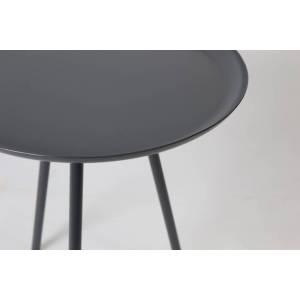 Feliz Lifestyle bijzettafel Rafael 39 x 45 cm staal grijs