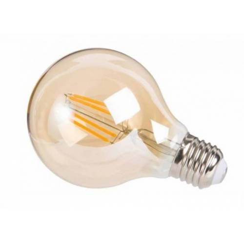 Rox Living decoratieve led lamp Amber 4W 12 cm glas warm wit