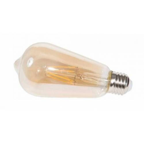 Rox Living decoratieve led lamp Amber 4W 15 cm glas warm wit