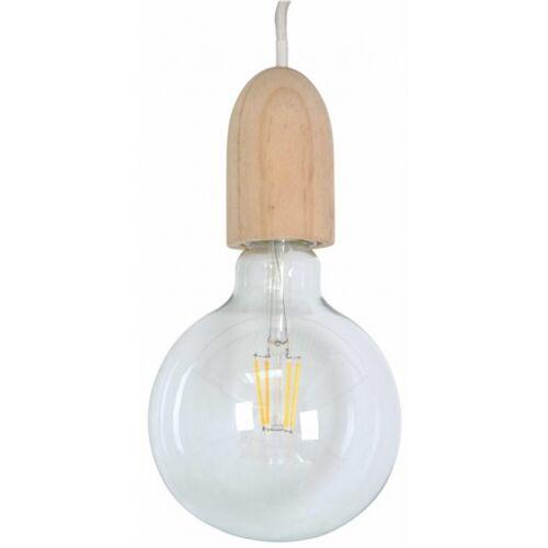 Rox Living decoratieve lamp 12 cm E27 glas bruin