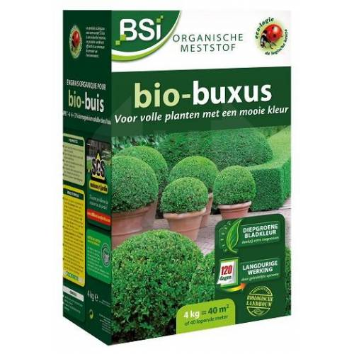 BSi meststof Bio buxus 4 kg