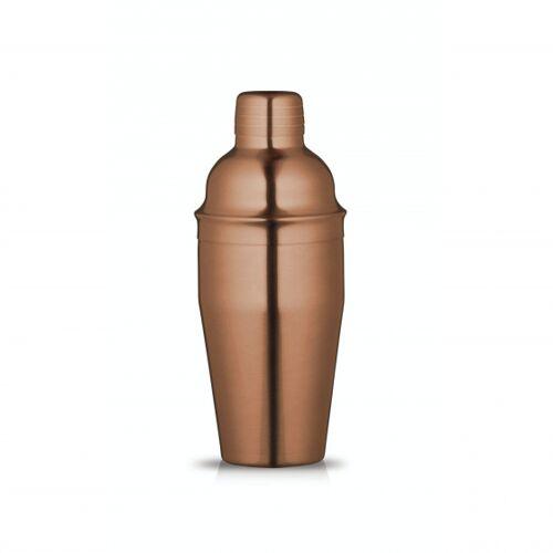 BarCraft cocktailshaker 550 ml RVS koper
