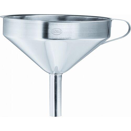 Rösle trechter 12 cm RVS zilver - Zilver