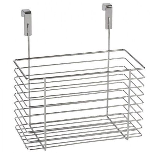 Wenko hangmand 24 x 24,5 x 15 staal zilver