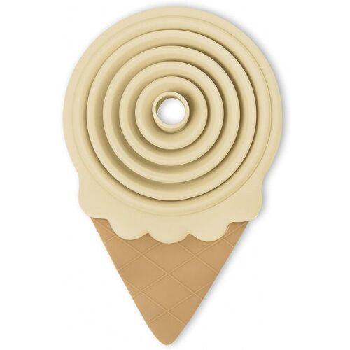 Balvi trechter IJsvorm opvouwbaar 13,8 x 8,5 cm siliconen crème - Crème