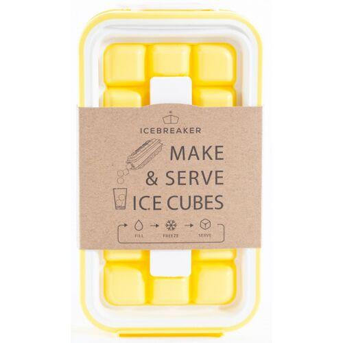 DesignNest ijsblokjesvorm IceBreaker Pop 21 x 12 cm geel - Geel