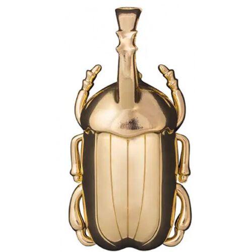 Doiy flesopener Kever 5,8 x 11 cm zink goud - Goud