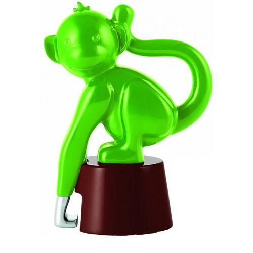 E-my E my flesopener aapje 8,5 cm ABS groen - Groen