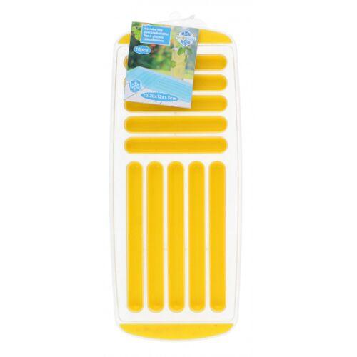 Fresh & Cold ijsblokjestray 12 x 30 cm geel - Geel