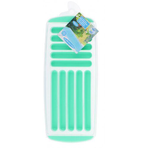 Fresh & Cold ijsblokjestray 12 x 30 cm groen - Groen