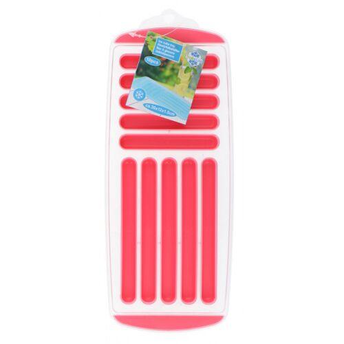Fresh & Cold ijsblokjestray 12 x 30 cm roze - Roze