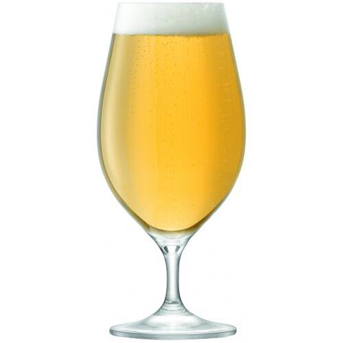 L.S.A. bierglazen Cellar 425 ml glas transparant 6 stuks - Transparant