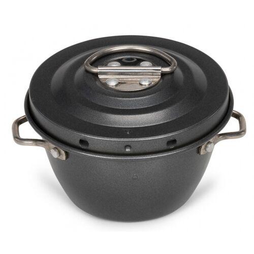Patisse puddingtrommel 250 ml staal zwart - Zwart