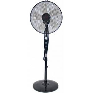 Gerimport ventilator 220 240v 50hz 60w 130 x 40 cm zwart - Zwart