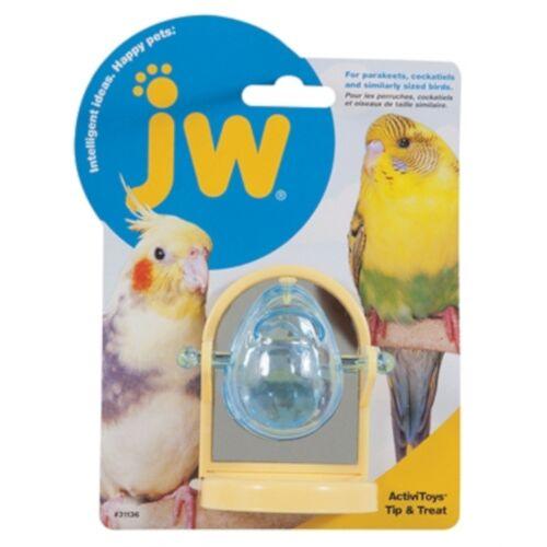 VDM vogelspeelgoed Tip & Treat 8 x 6 cm geel