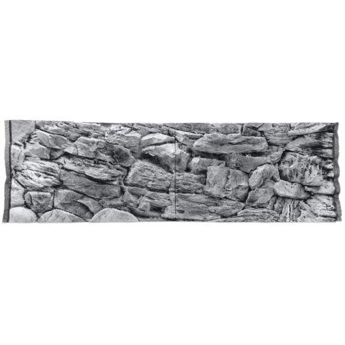 CeramicNature achterwand aquarium 47,5 cm grijs