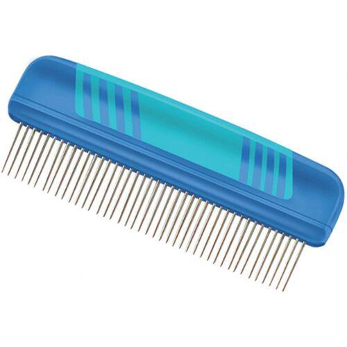 Vivog kam met roterende tanden 26 cm blauw