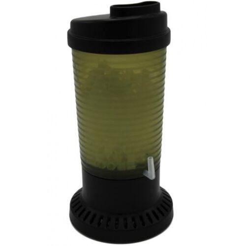 Ziss aquariumfilter ZBS 200 9,3 x 19 cm groen/zwart 5 delig