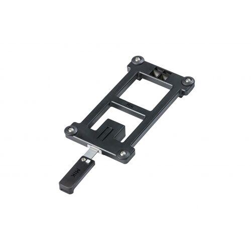 Basil adapterplaat MIK zwart   70171
