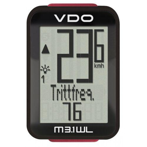 VDO Fietscomputer M3.1 WL D3 digitaal draadloos zwart