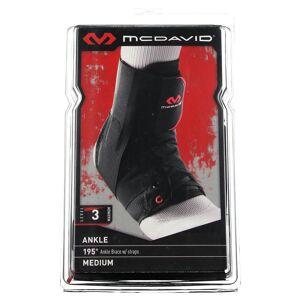Inconnu McDavid Enkelbrace + Velcro Zwart 195