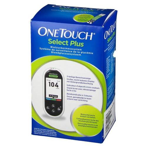 Lifescan Benelux One Touch Select Plus Bloedglucosemeter 023-209-02