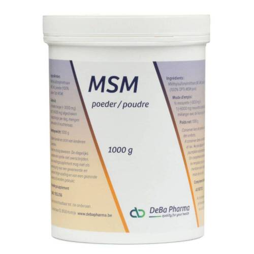 Deba Pharma Deba MSM Poeder