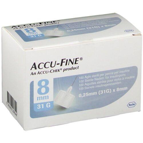 Roche Diagnostics Accu Fine Naald 0.25x8 mm 31g