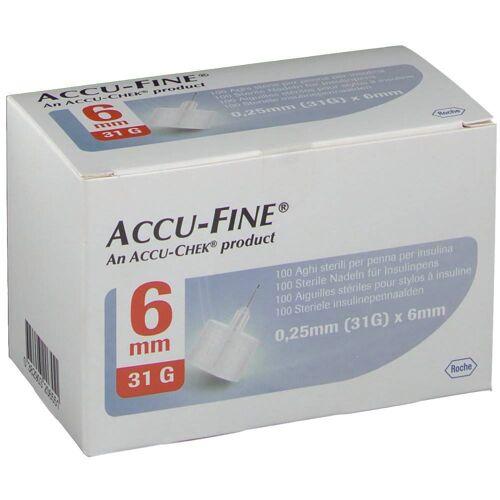 Roche Diagnostics Accu Fine Naald 0.25x6 mm 31g