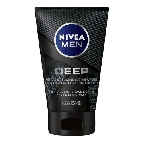 Beiersdorf Nivea Men Deep Face & Beard Wash