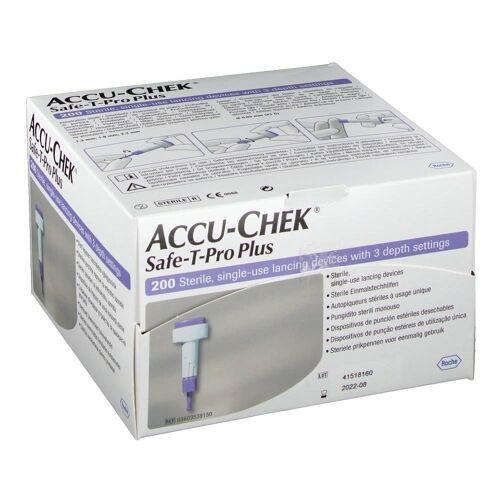 Roche Diagnostics Accu-Chek Safe T-pro plus lancetten