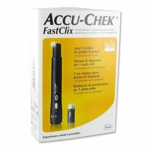 Roche Diagnostics Accu-Chek FastClix Prikpen + 6 Lancetten