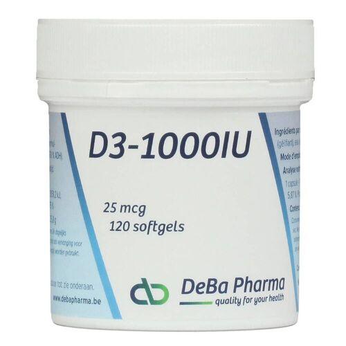 Deba Pharma Deba D3-1000 25mcg
