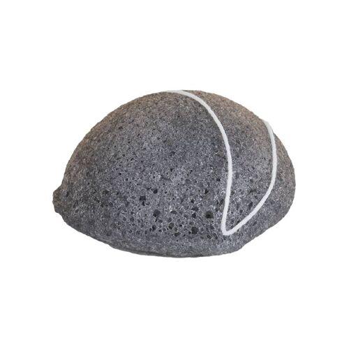 Happy Soaps HappySoaps Charcoal Konjac spons 100% natuurlijke spons (vette huid)
