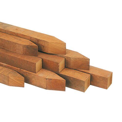 Intergard Hardhouten palen Azobe 7x7x275cm