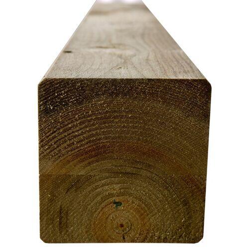 Intergard Houten palen tuinpalen grenen 9x9x300cm