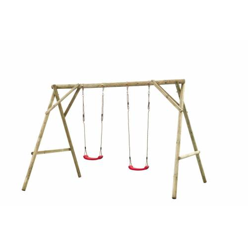 Intergard Houten schommel houten speeltoestellen dubbel