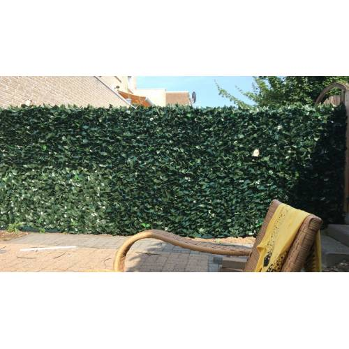 Intergard Kunsthaag balkonscherm tuinscherm hedera klimop 100x300cm