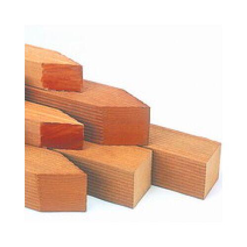 Intergard Hardhouten palen hoogwaardige bangkirai tuinpalen 7x7x275cm