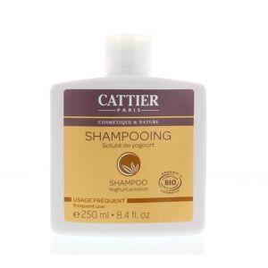 Cattier Shampoo dagelijks yoghurt (250 ml)