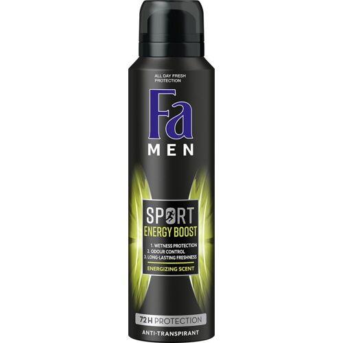 FA Men deodorant spray double power boost mini (50 ml)