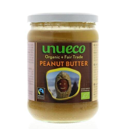 Unueco Pindakaas bio fair trade (500 gram)