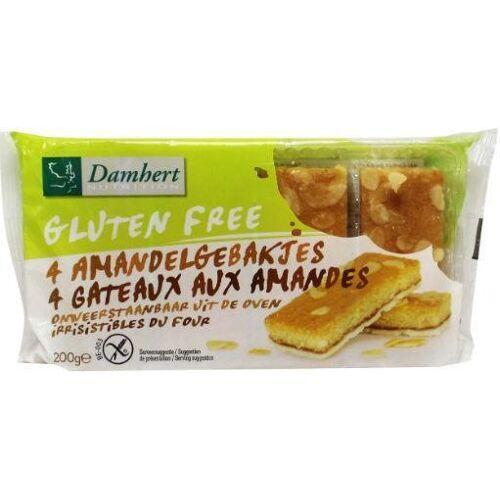 Damhert Amandelgebakjes glutenvrij (200 gram)