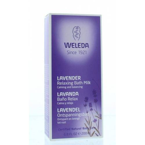 Weleda Lavendel ontspanningsbad (200 ml)