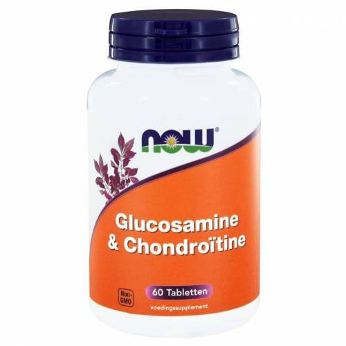 NOW Glucosamine & chondroitine (60 tab)