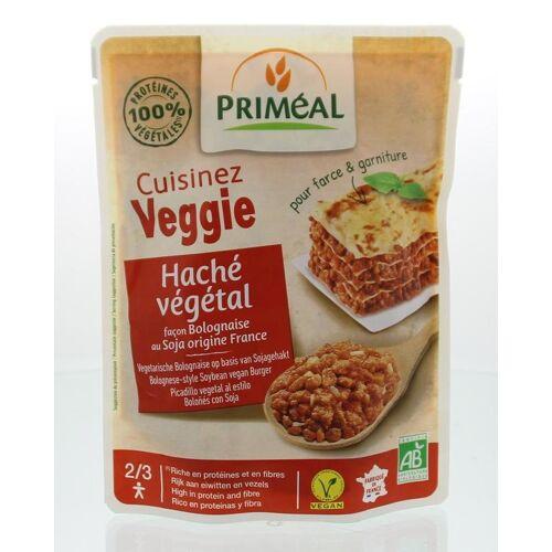 Primeal Cuisinez Veggie gehaktsaus bolognese (250 gram)