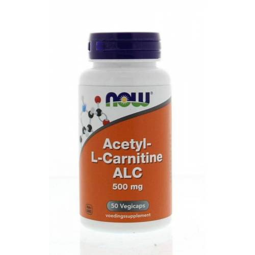 NOW Acetyl L-Carnitine 500 mg (50 vcaps)
