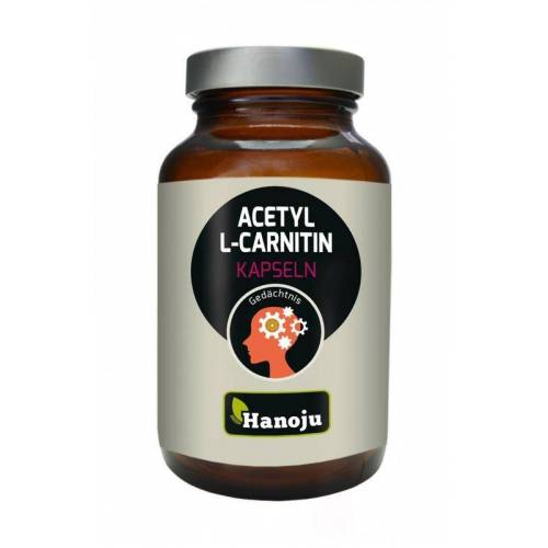 Hanoju Acetyl L carnitine 400 mg (90 capsules)